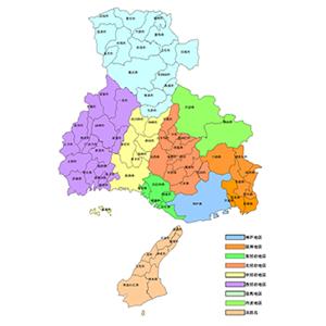 助産所マップのイメージ